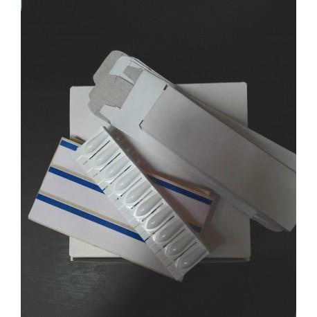 Sada: 25x forma na čípky, fólie, skládací krabička
