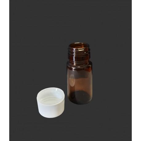 30 ml lahvička širokohrdlá s uzávěrem DIN 28 , balení 156 ks
